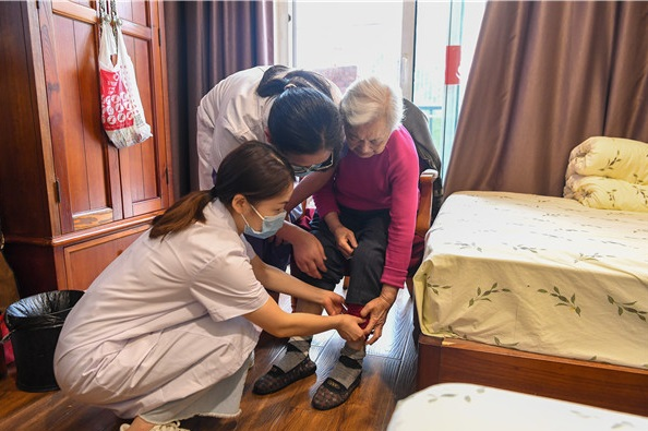 """九龙坡医养结合4年探索路,让老年人乐享""""品质晚年"""""""